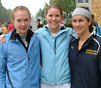 Jenny, Sarah and Sharon all came back from Amsterdam with personal bests