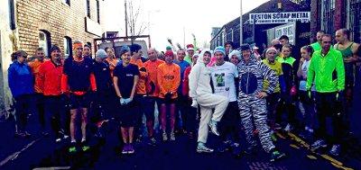 Boxing Day Run & London Marathon draw
