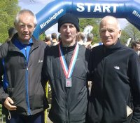 Eric, Frank and Chris claimed an excellent 7th in the British Masters Road Rel
