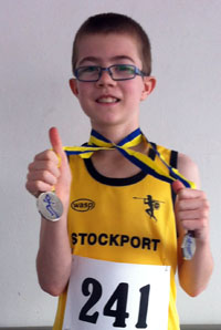 Double silver medalist Jack Doodson