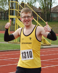 James goes the distance for dyspraxia