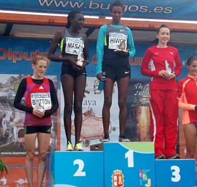 Jess third in Spainish Atapuerca Cross IX