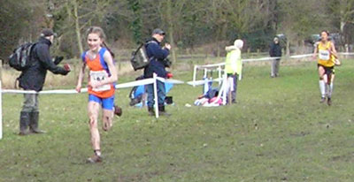 Katy Whiteoak topped off a great winter season with a win in the English Schools
