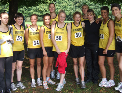 Women's North West 3 Stage Road Relays