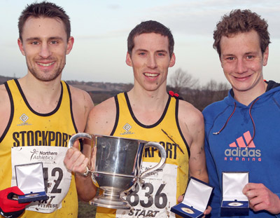 Andy Davies took the Northern men's title from Olympian athlete Alistair Brownle