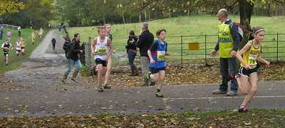 Katy Whiteoak had a great race to take 1st place