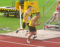 Stockport made a brilliant clean sweep of all 4 relay events