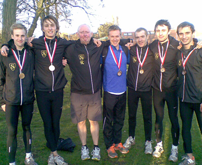 Senior men take National Cross bronze