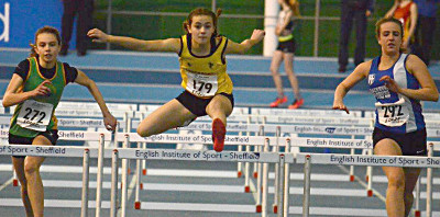 Stockport jumpers lead the way at Northern U15/13 Indoors