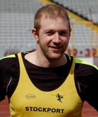 Stuart makes history in Olympic Stadium