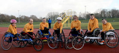 Great Fundraising Boost for Stockport Wheelchair Racing