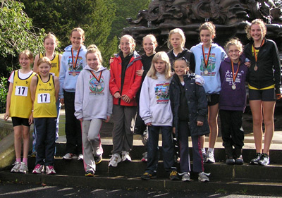 Juniors out in force at the North West Road Relays
