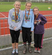 Team winners at the Greater Manchester Champs; Lucy Donaghy (1st) Juliet Downs (