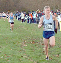 Steve Vernon gained selection for the European Cross Country Championships