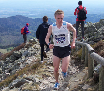 Steve 13th in World Mountain Trophy
