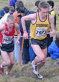 Steve Vernon continued his run of good form with a bronze medal in the National Cross Country.